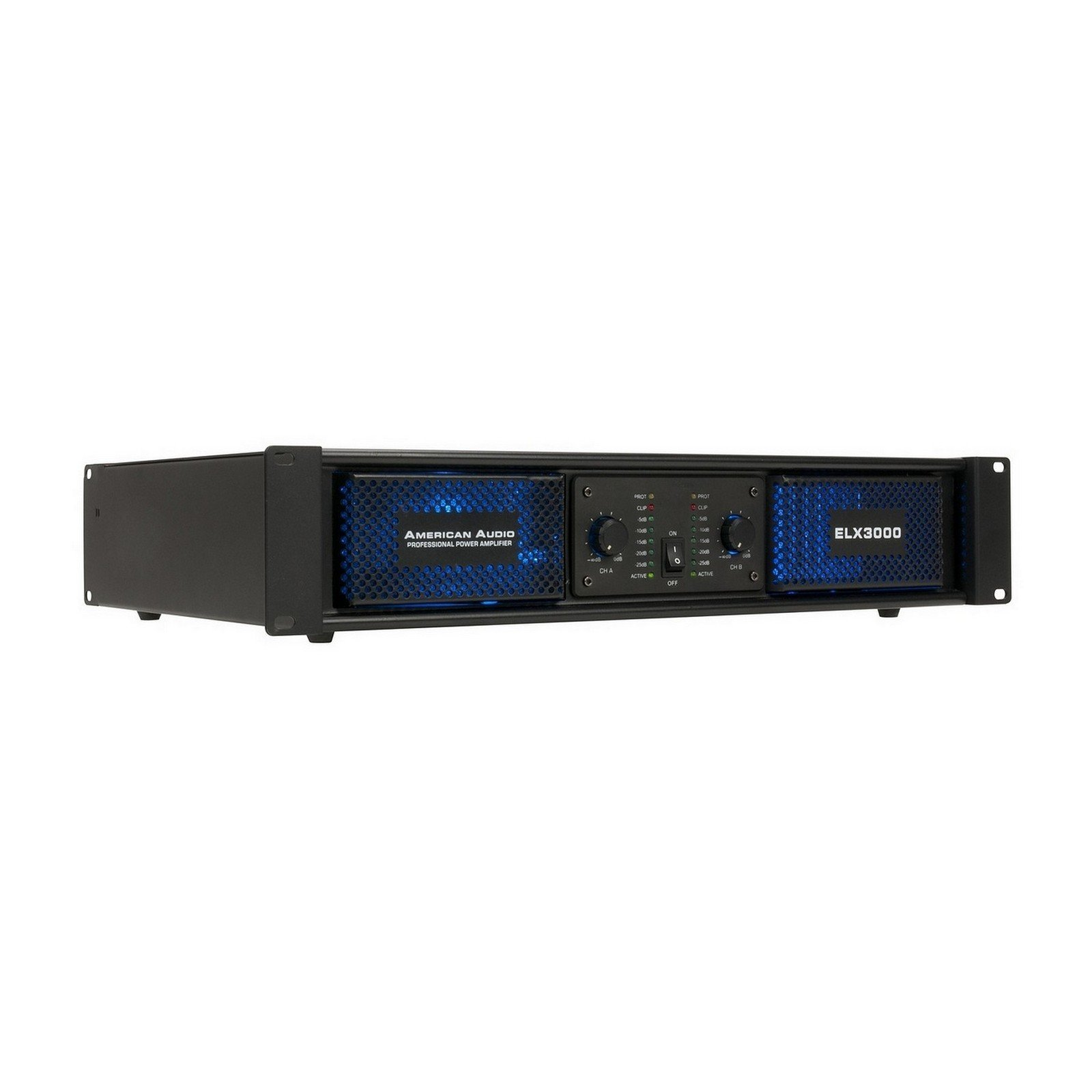 American Audio ELX3000 | 2x180W RMS Power Amplifier for DJ Venue