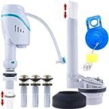 Universal Toilet Repair Kits, Complete Toilet Tank Repair Kit For 2-Inch Flush Valve Toilets with Fill Valve, Toilet…