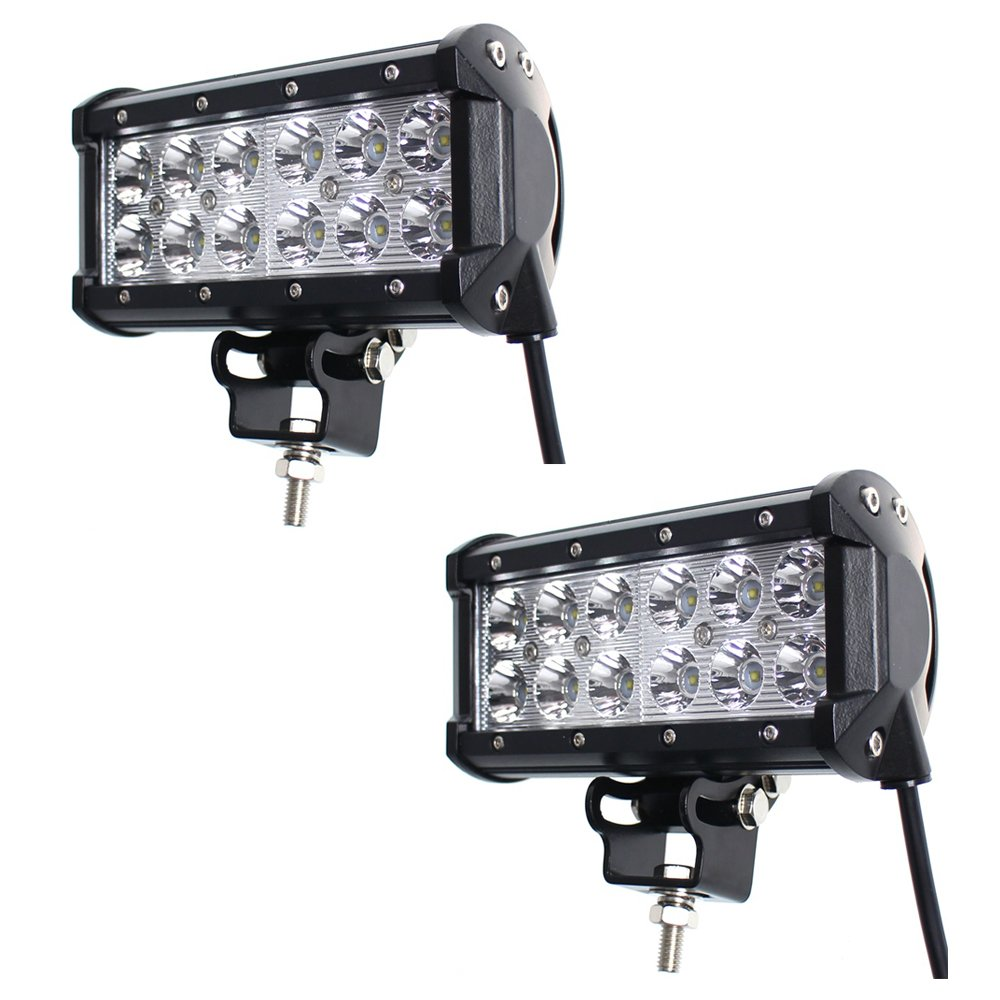 TMH 2 X 36w 2600lm Cree Spot Led Work Light Bar for Off-road SUV Boat 4x4 Jeep Lamp