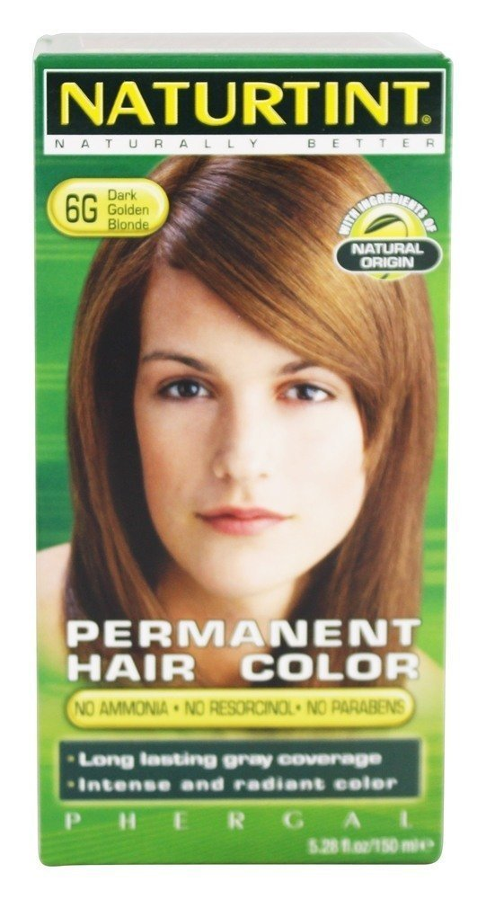 Low Cost Naturtint Permanent Hair Color 6gdark Golden Blonde 528