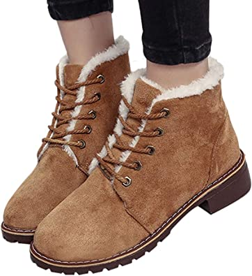 Lurryly❤Womens Fashion Winter Warm Snow Boots Plus Boot Classic Bootie Shoes