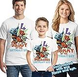Wallykazam Family birthday theme Shirts, Wallykazam Birthday shirt
