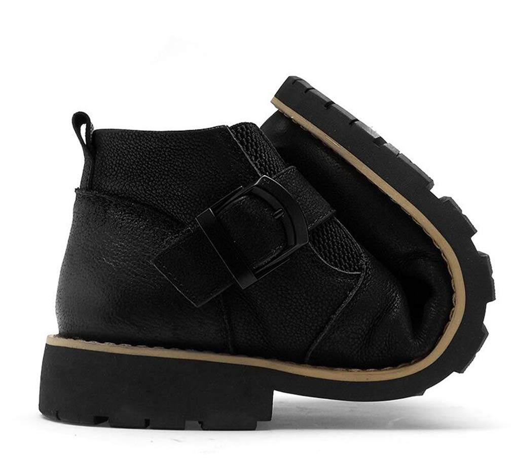 Hy Schuhe, Herren Baumwollstiefel, Leder Herbst Winter Retro Formale Schuhe, Hy Outdoor Plus Samtwerkzeug Stiefel, Trainingsschuhe, Trekking-Reise-Schuhe (Farbe   EIN, Größe   43) 0fe7c3