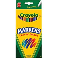 Crayola 8ct Classic Fine Markers