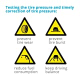 QITONG Classic Digital Tire Pressure Gauge 150
