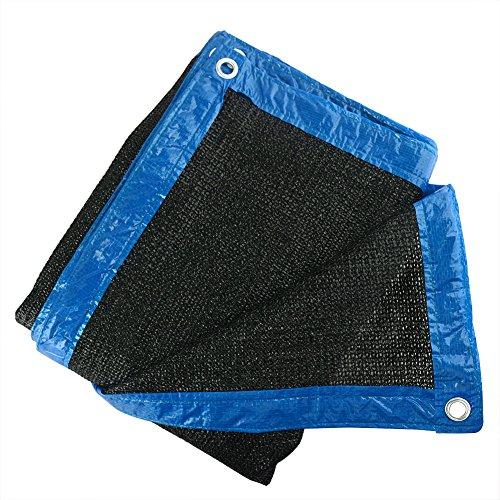 90 Black 10 x10 Sun Mesh Shade Sunblock Shade Cloth UV Resistant Net for Garden Flower Plant