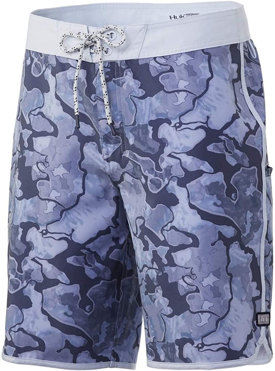 "Huk Men/'s Reserve 20/"" Sharkskin Size 36 Shorts"