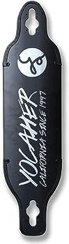 Yocaher Aluminum Black Series Heavier Riders Longboard