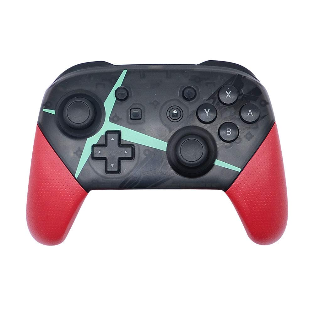 Wireless Controller for Nintendo Switch Pro, Bluetooth Gamepad Joypad Remote Compatible with Nintendo Switch Console (Black and Pink)