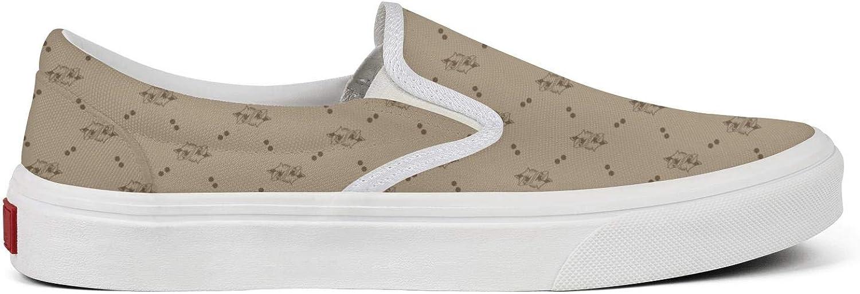 BOINN Womens Slip-on Canvas Shoes Non-Slip Cool Rubber Sole Workout Walking Sneakers