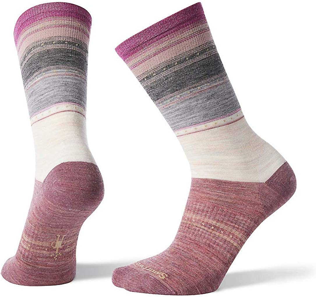 Smartwool Womens Sulawesi Stripe Crew Calze Donna
