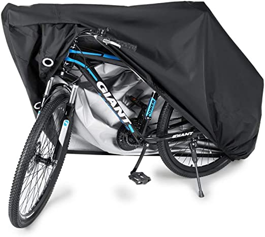 liangh Cubiertas Protectoras para Bicicleta,Cubierta De Jardín Impermeable A Prueba De Nieve para Bicicleta,Negro,XXL: Amazon.es: Hogar