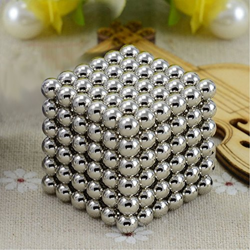 Magnetic Ball, Magnetic Sculpture Toys for Intelligence Development and Stress Relief, Magic Decompression Toy for Intelligence Development and Stress Relief, Office Toys ( 5MM Set of 216 Balls )
