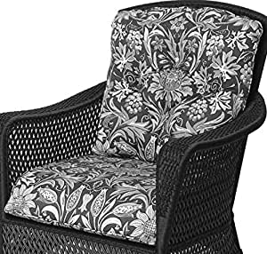 Grand Traverse Lounge Chair Seat and Back Cushions (Dupione Bamboo)