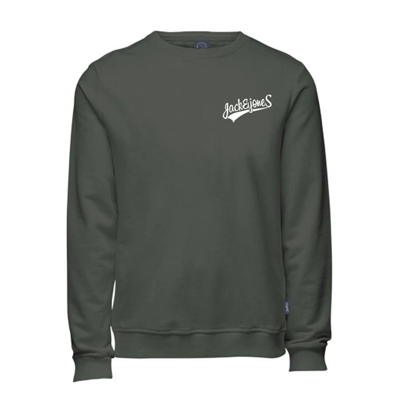 Jack /& Jones Originals Sweatshirt Mens Crew Neck Casual Jumper Jormills
