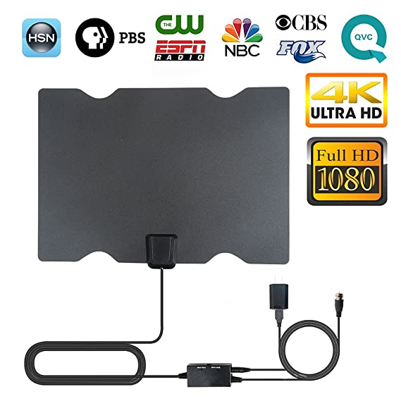 Review TV Antenna, 2018 Newest