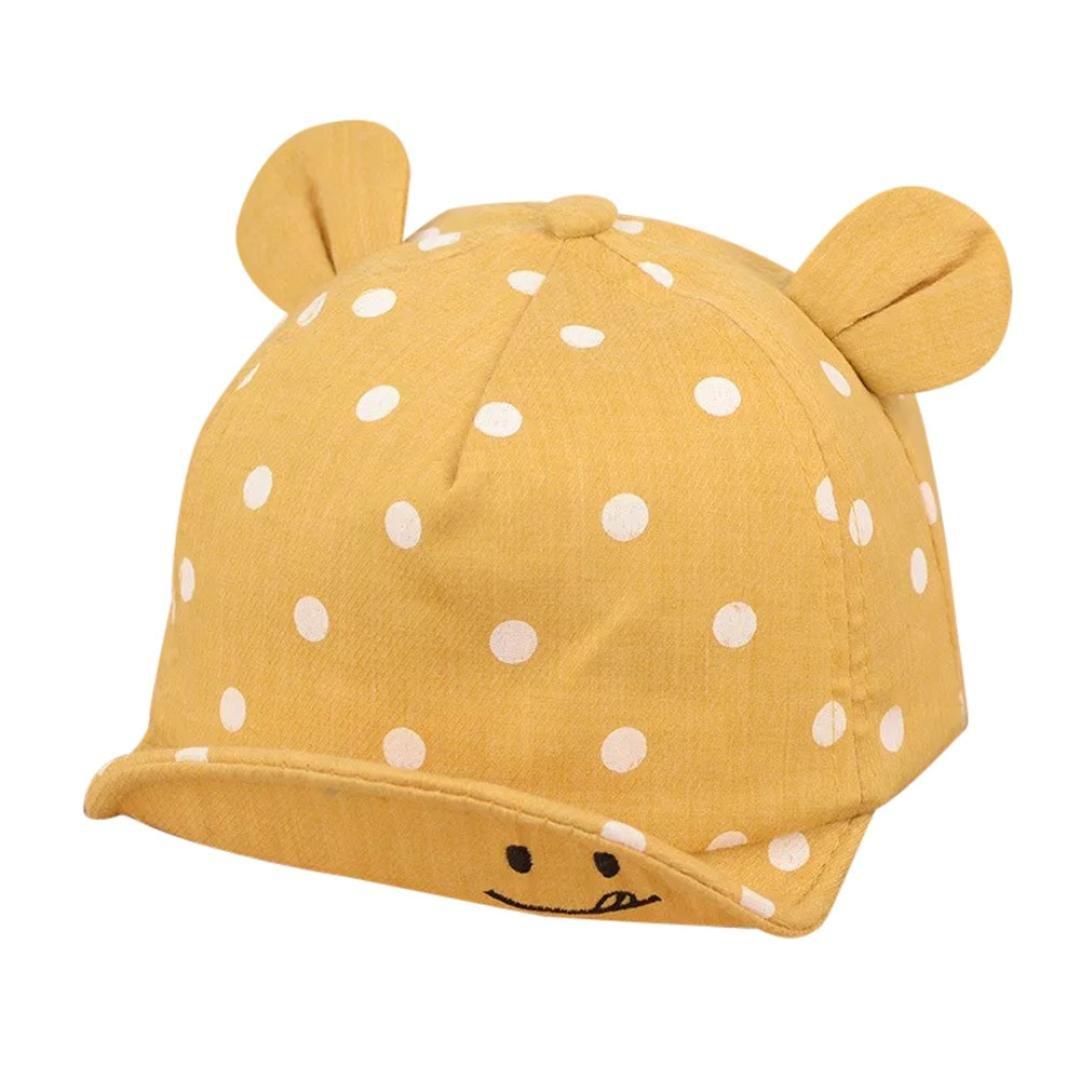 Gorras bebé, ❤️Amlaiworld Sombrero de Punto Lindo de Las Niñas y Niños Bebé Gorra de Sol de Béisbol de Verano (Rosado) Amlaiworld 2