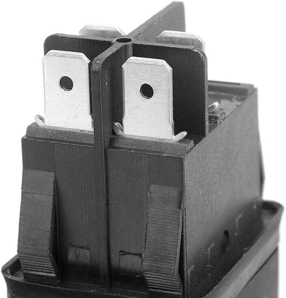 /équipements Interrupteurs /à Bouton-Poussoir avec s/écurit/é Lumineuse Lionina HY52 4Pins on Off Interrupteurs /à Bouton-Poussoir pour appareils m/écaniques