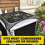air conditioner leaf cover - HVAC Source All-Season Condenser Top Cover Screen (1)
