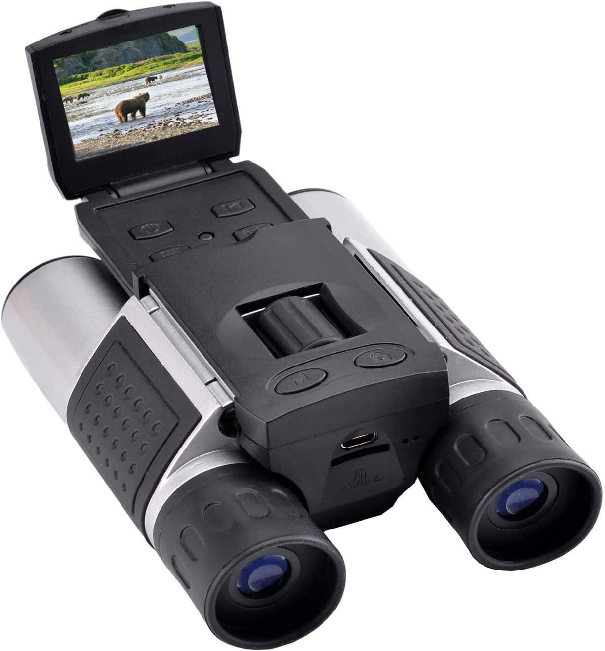 """Vazussk 1.5"""" LCD Digital Binoculars with Camera for Adults, 10x25 Video Photo Recoder for Bird Watching Hunting Concerts and Sports Game with 16GB Cards : Camera & Photo"""