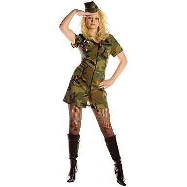 Amazon.com: Surrender Soldado adulto disfraz, M, Como se ...