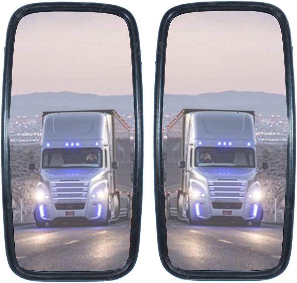 ou bus 36 x 18 cm. Lot de 2 r/étroviseurs universels pour camions camionnettes camionnettes