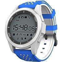 Ownsig Reloj Pulsera Inteligente Luz Ultravioleta Luminosa Ip68 Impermeable Elevación Corriendo Smartwatch Podómetro Compatible iOS Android