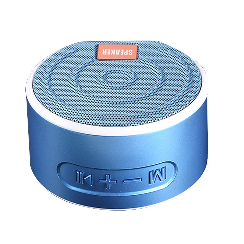 Buybuybuy Portable Bluetooth Speaker, Aluminum Wireless Bluetooth Speaker V4.2 Micro SD Slot, FM Radio & Built-in Mic Compatible Speakerphone Function