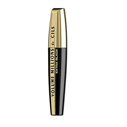 Loréal paris - Volume million lashes extra black, máscara de pestañas, negro
