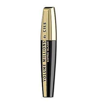 03059dfe9f8 L'Oreal Paris Volume Million Lashes Mascara Extra Black: Amazon.co ...