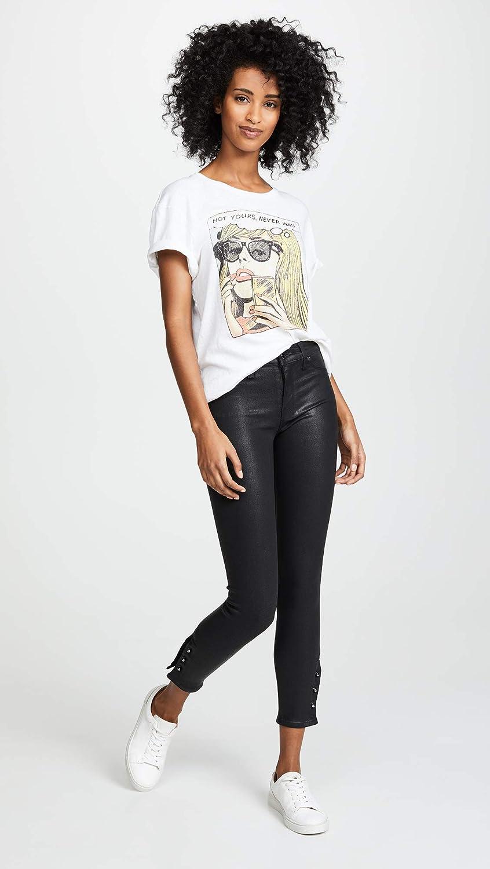 HUDSON Womens Nico Midrise Crop Super Skinny 5 Pocket Jean