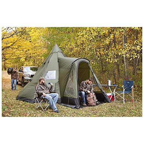 Guide Gear Deluxe Teepee Tent, 14' x ()