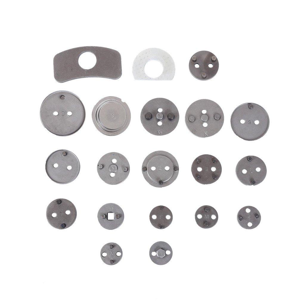ztech 22 piezas Heavy Duty Disco de freno Pinza de freno juego de herramientas para y viento vuelta kit para pastillas de freno de repuesto: Amazon.es: ...