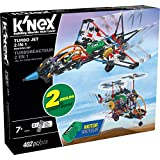 K'NEX - Turbo Jet - 2-in-1 Building Set - 402 Pieces - Ages 7+ - Engineering Educational Toy