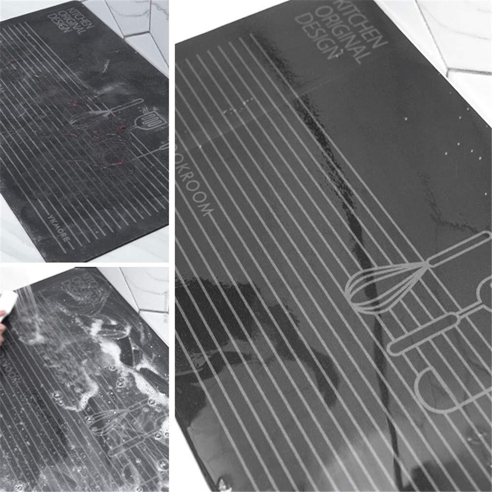 Light Gray, 17.7x29.5+17.7x47.2 17.7x29.5+17.7x47.2 Egg-Beater USTIDE 2 Piece Dampproof Non-Slip Kitchen Mat Rubber Backing Doormat Runner Rug Set