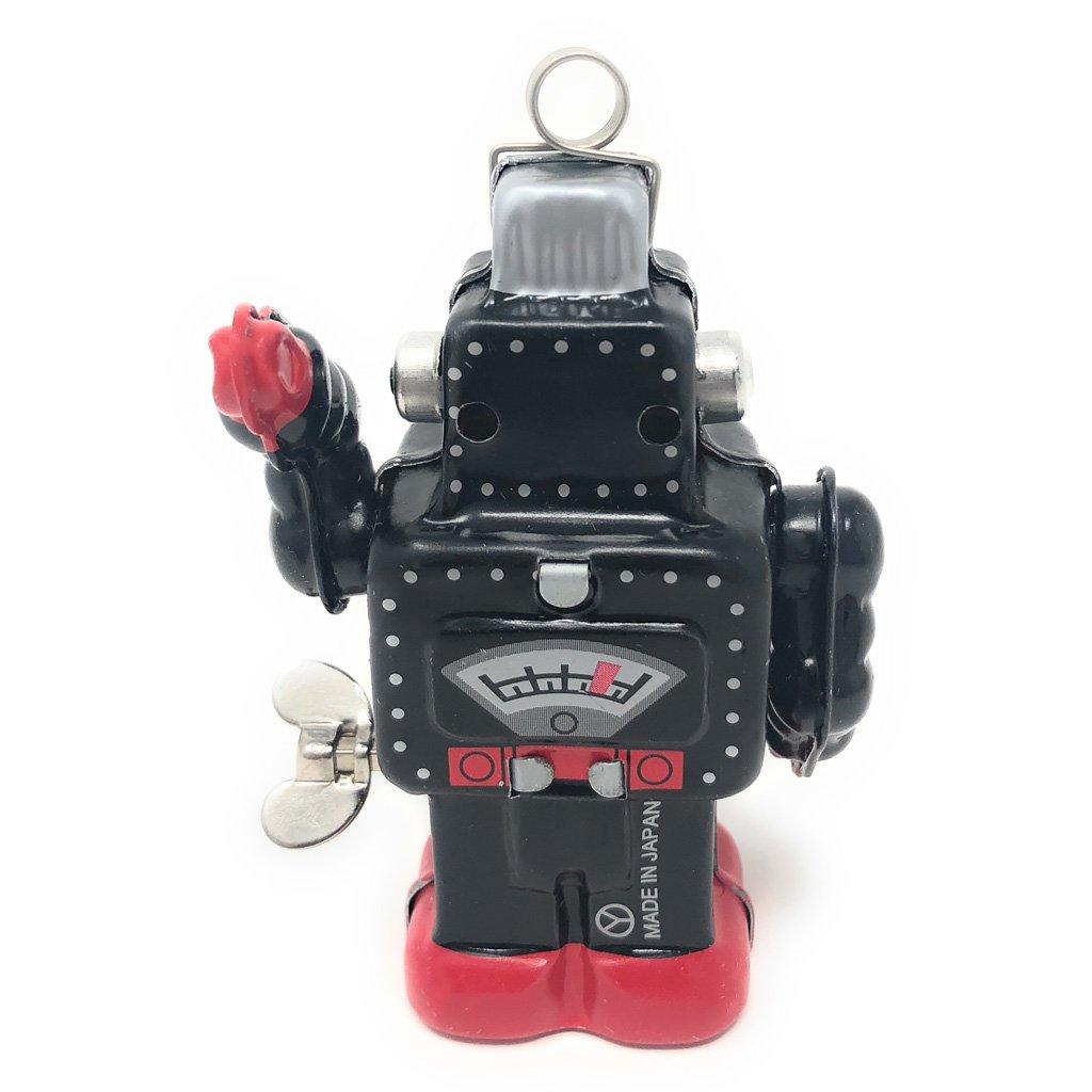 Burekiya Vintage Retro Tin Wind-up Toy - Two Sparkling Robot Set by Burekiya (Image #7)