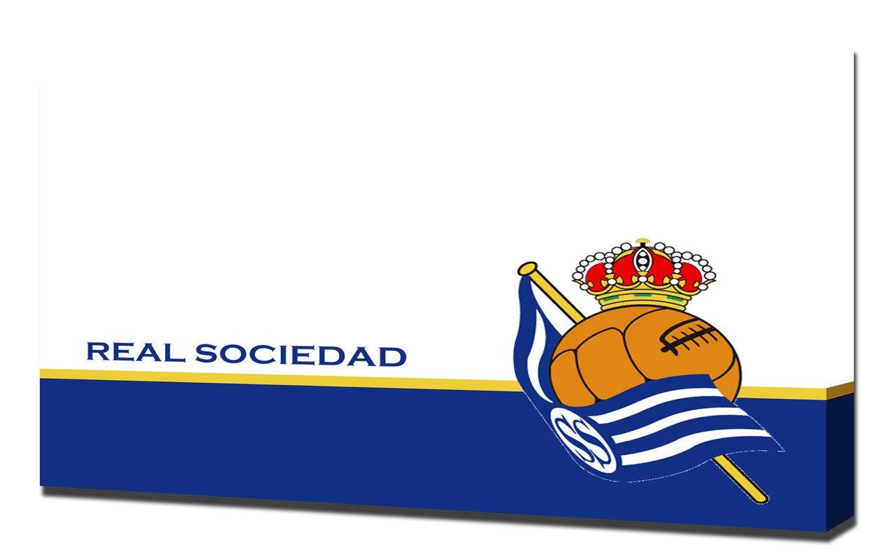 Real Sociedad 1 Futbol - Pintura en lienzo: Amazon.es: Hogar