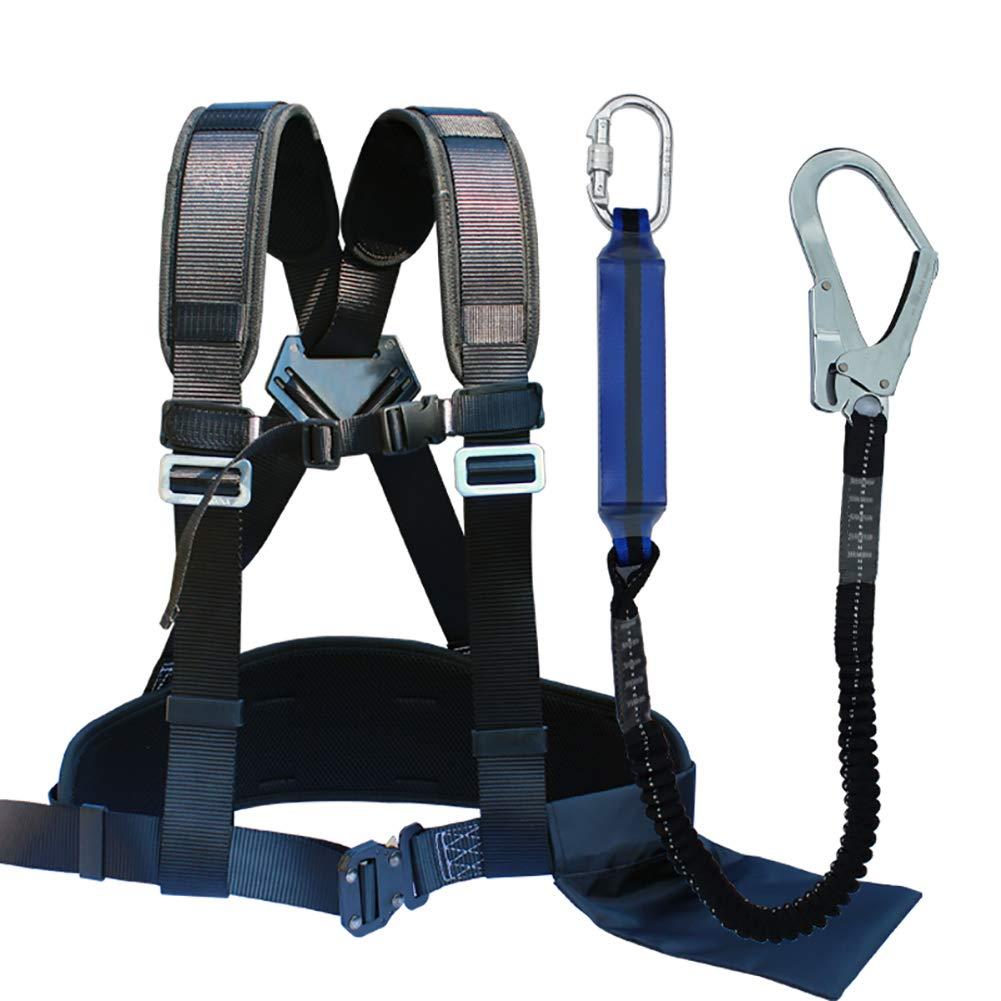 YFASD Arnés Anticaída Cinturón De Sujeción Kit Ajustable Buffer ...
