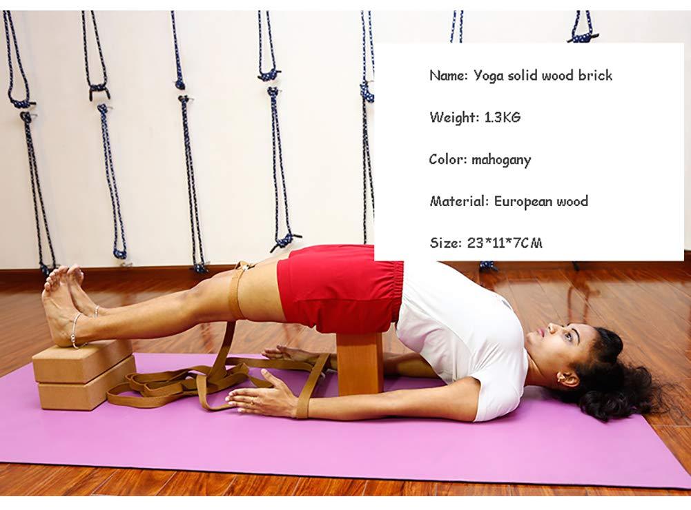 Bloques Yoga de Madera Maciza 1 o 2Yoga Brick para PC ...