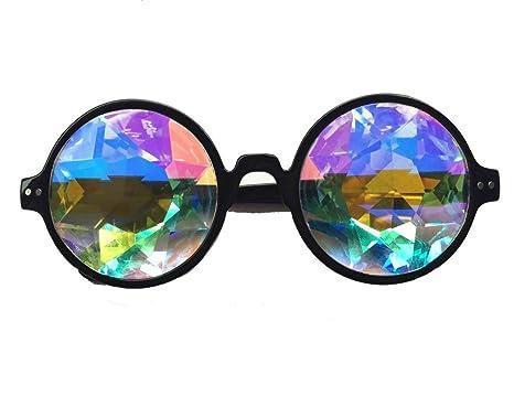 Gafas con lentes de caleidoscopio de Florata, multicolor ...