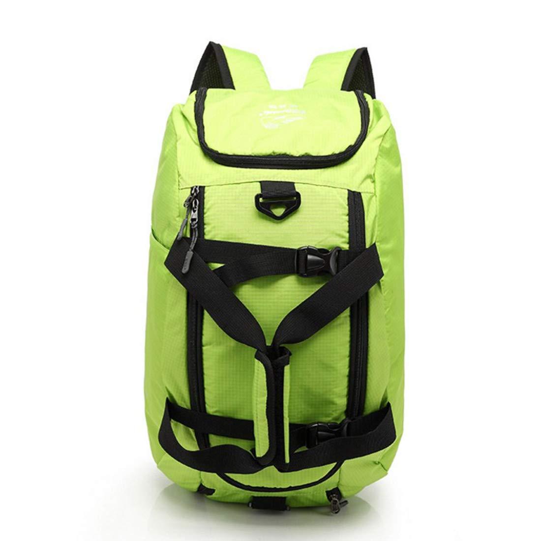 Kunliyin YY1 Multi-Funktions-Outdoor-Bergsteiger-Tasche mit hoher Kapazität (Farbe : Grün)