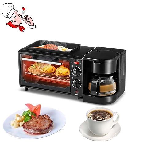 Grill BBQ Multi-función De La Casa Máquina De Desayuno Tostadora Horno Horno Eléctrico Tostadas