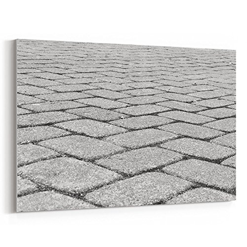 Cheap  Westlake Art Canvas Print Wall Art - White Cobblestone on Canvas Stretched..