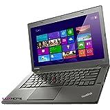 Lenovo Notebook ThinkPad T440 Intel i5 1,9GHz 4GB 500GB Cam Windows10 Pro 1366 1H08 (Zertifiziertes und Generalüberholtes Laptop) inkl. LUXNOTE Maus