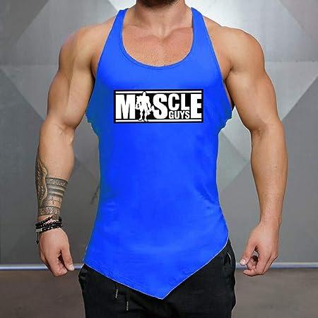 Camiseta Deportiva Sin Mangas De Entrenamiento Para Hombres ...