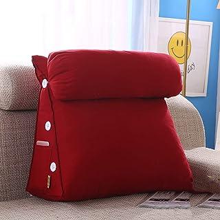 MON5F Home Cuscino Cuscino Cuscino Schienale Cuscino Cuscino Triangolo Grande Testiera Cuscino Morbido Cuscino in Cotone Cuscino Schienale per Ufficio Tatami