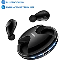 Anbes 359 Bluetooth 5.0 True Wireless in-Ear Headset with Built-in Mic Hands-Free Calls