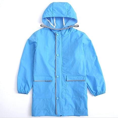 UZZHANG - Poncho Impermeable para bebé, Color Azul ...