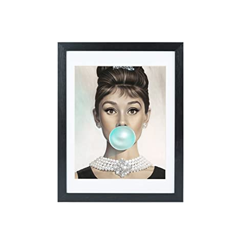 Amazon.com: Lovely Audrey Hepburn Picture/Photo Frame Made to ...