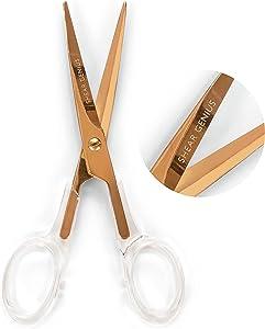 Rose Gold Scissors for Office - 6.5